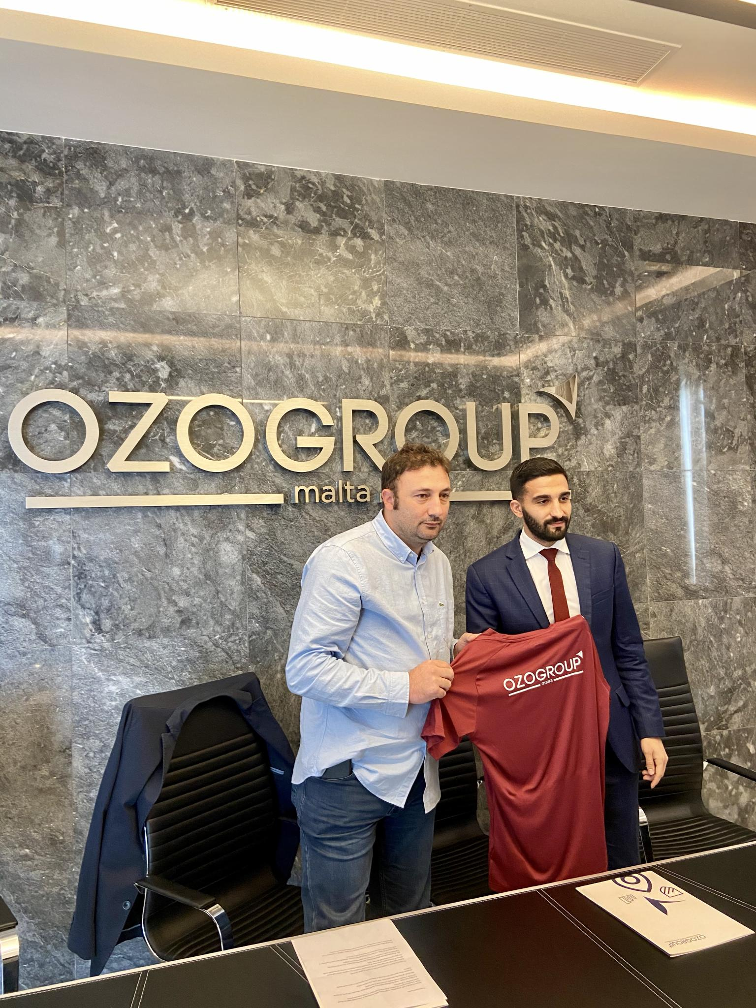 Ozo Group extends partnership with Gzira United FC
